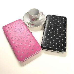 Handbags - Black and Pink Wallets